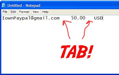 how to make a paypal payment to an email address