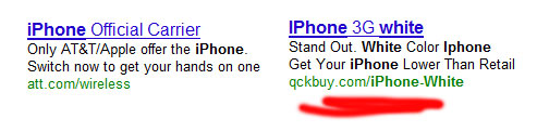 white-iphone-google-ad